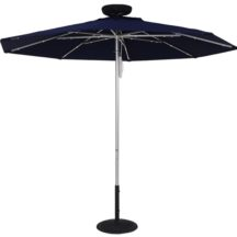 Sunbrella 7.5 Ft. ILLUMISHADE Solar Powered LED Lighted Market Umbrella (Special Sale)