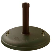 48 lb Black Concrete Filled Umbrella Base