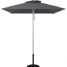 7 1/2 Ft Commercial Heavy Duty Aluminum Market Square Umbrella