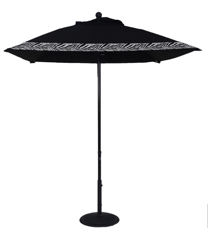 Sunbrella®6.5 Ft. Aluminum Market Square Crank Umbrella