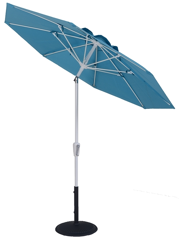 7.5 ft Market Umbrella with Auto Tilt