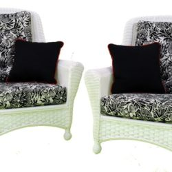 Chair Seat & Back Connected Cushions